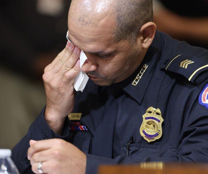 Capitol Police officer to Jan. 6 investigators: Rioters said 'Trump sent us'