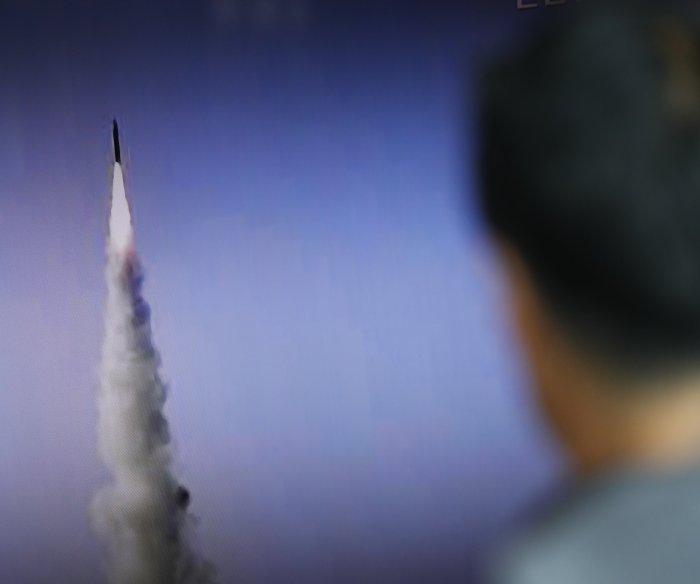 North Korea launches short-range ballistic missile