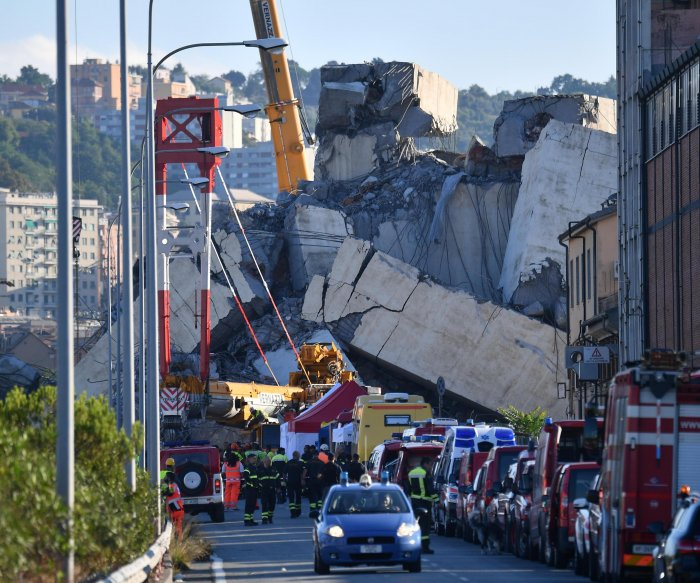 Italy bridge collapse death toll climbs to 42 as country mourns