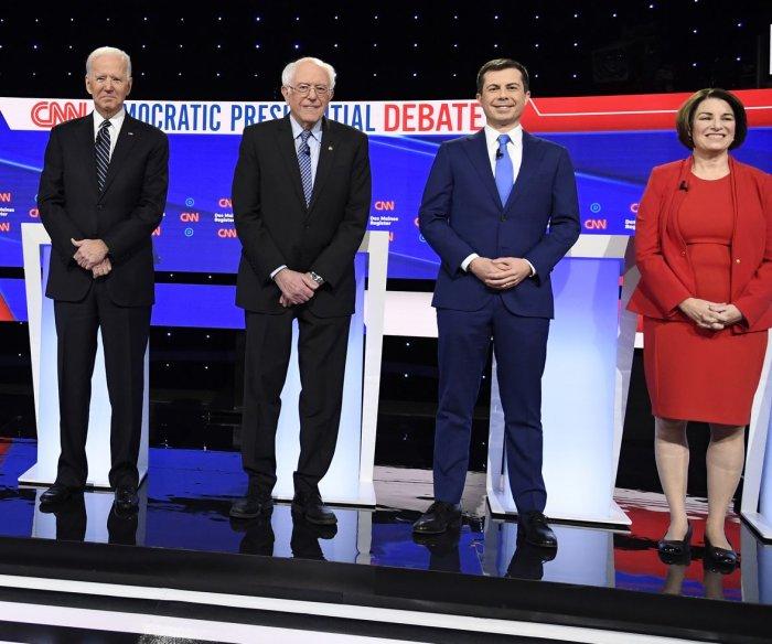 Democrats discuss COVID-19, gun policy in South Carolina debate