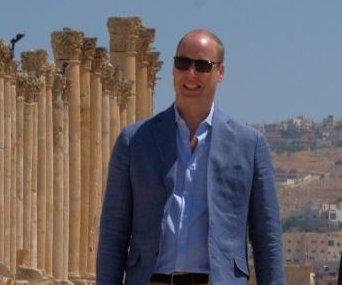 Prince William tours Jordan ahead of historic Israel visit