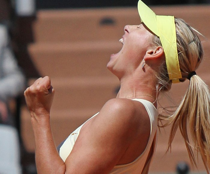 Moments from Maria Sharapova's tennis career
