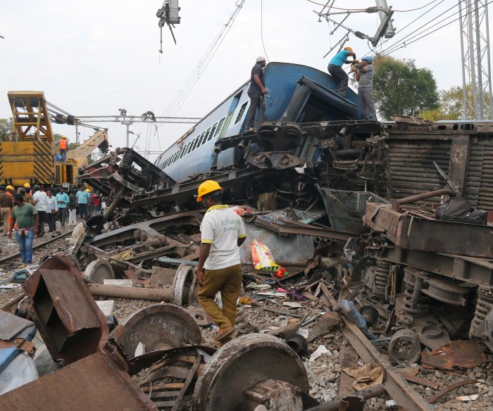 Train derailment in southern India kills at least 36