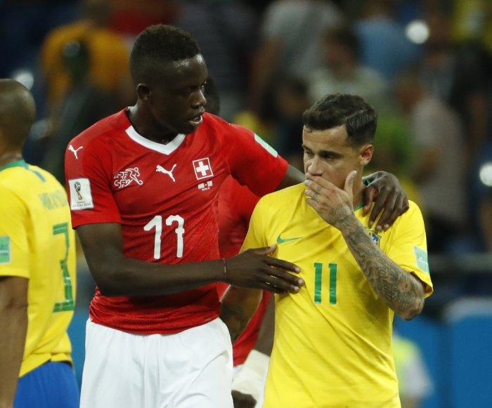 World Cup: Brazil, Switzerland end match in 1-1 draw