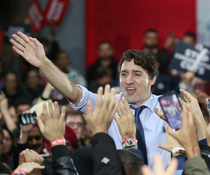 Prime Minister Justin Trudeau wins tight election race