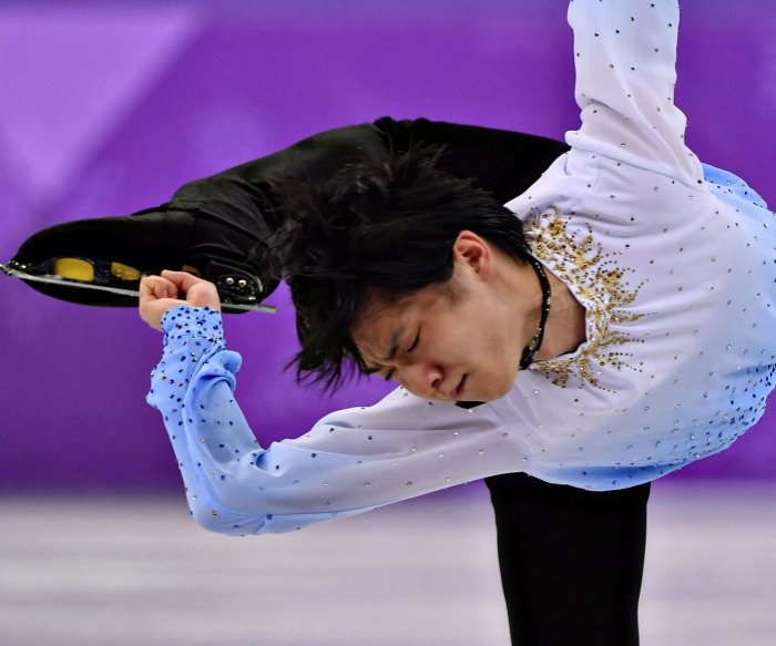2018 Winter Olympics: Moments from figure skating