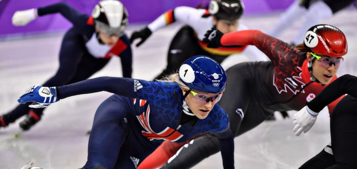 2018 Winter Olympics: Moments from speed skating