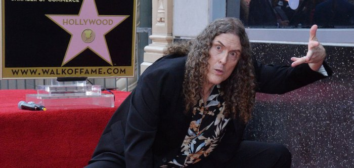 Weird Al Yankovic honored with star on Hollywood Walk of Fame
