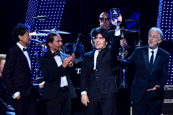 Mana honored at Latin Grammy Person of the Year gala