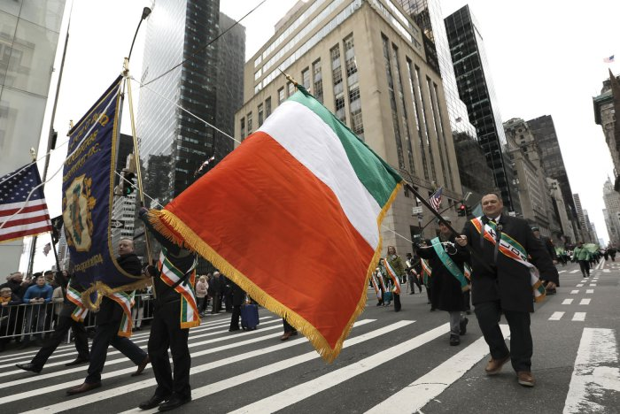 Parades mark St. Patrick's Day weekend in United States