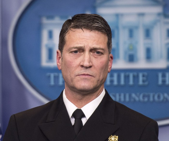 Ronny Jackson withdraws nomination for VA secretary