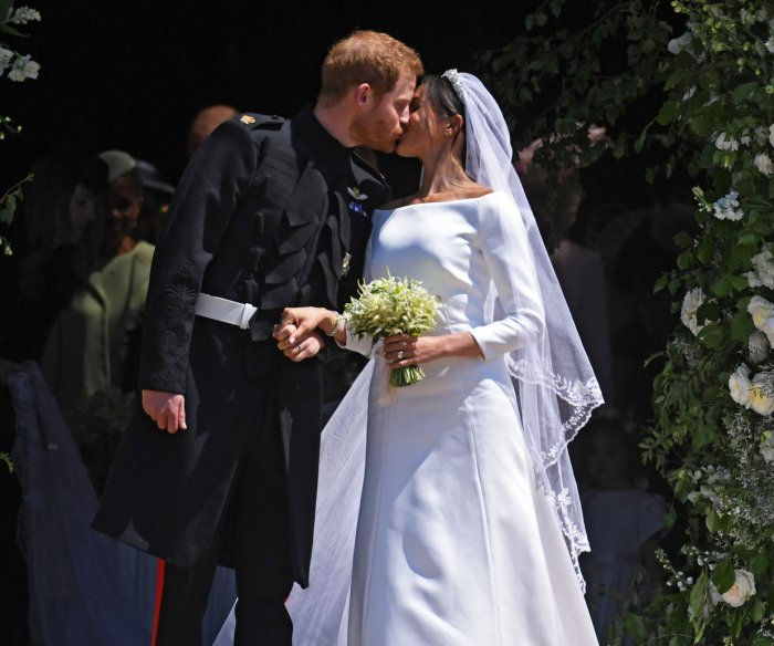 Britain's Prince Harry marries U.S. actress Meghan Markle