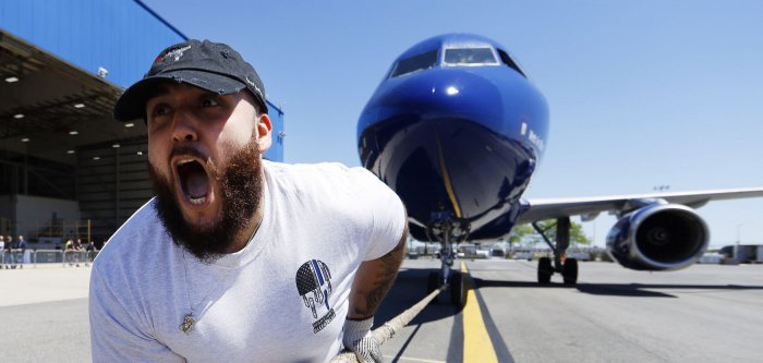 Plane Pull competition raises funds to fight kid cancer