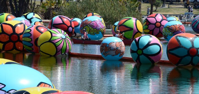 The Spheres at MacArthur Park
