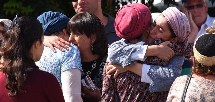 Israelis mourn Rabbi Nechamia Lavi in Jerusalem