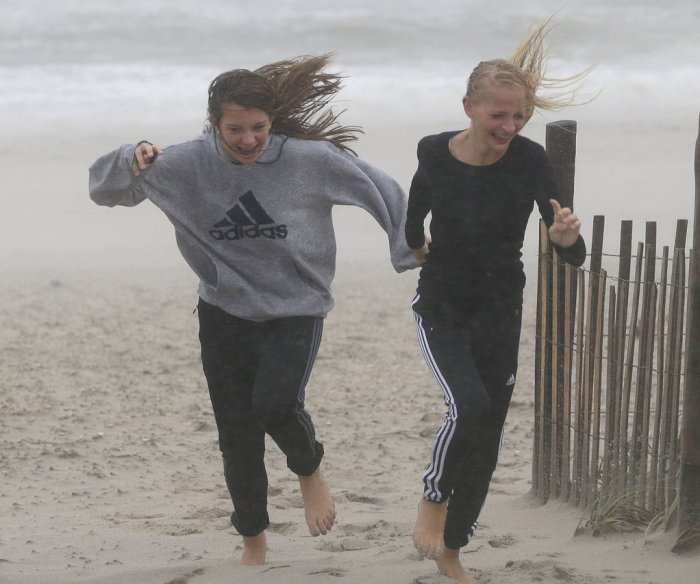 Stormy weather hits New Jersey