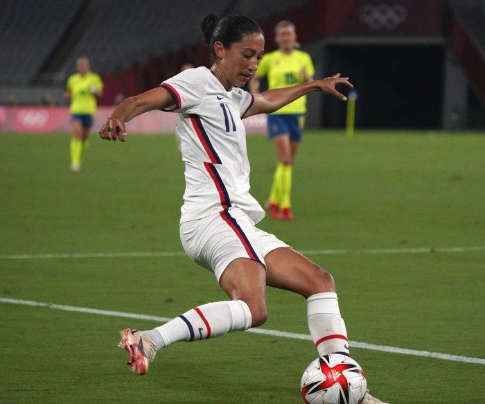 Olympics soccer: U.S. women rebound, beat New Zealand 6-1