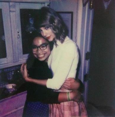 Taylor Swift invited fans to a secret screening of her new album at her LA home