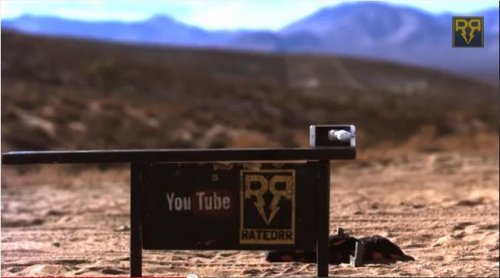 Video: iPhone 6 Plus meets 50-caliber bullet in slo-motion