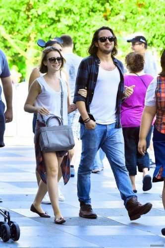 Lily Collins spotted with new beau Matt Easton