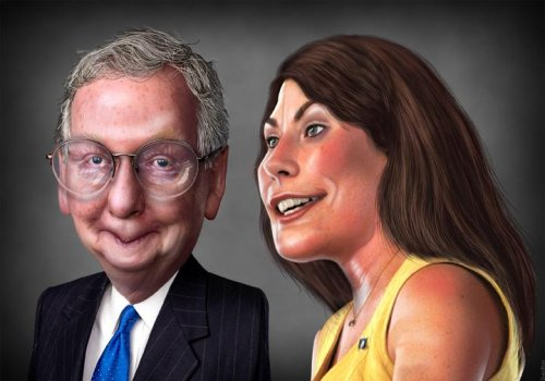 DSCC buys ads to help Grimes oust McConnell in Ky. senate race
