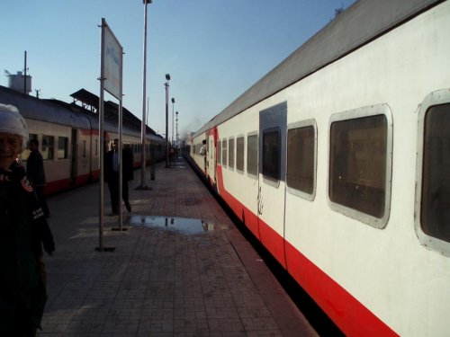 Officials: Man blown up trying to lay explosives on Egyptian railway