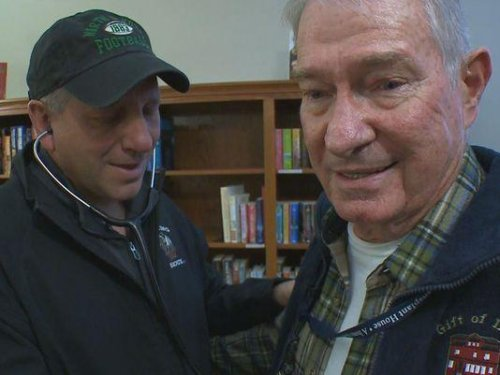 Vietnam vet gets heart of 21-year-old killed in fire