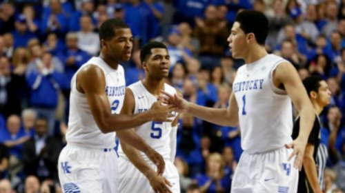 Top-ranked Kentucky Wildcats seek to roll Alabama Crimson Tide