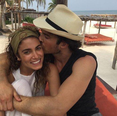 Nikki Reed shares honeymoon photo with Ian Somerhalder