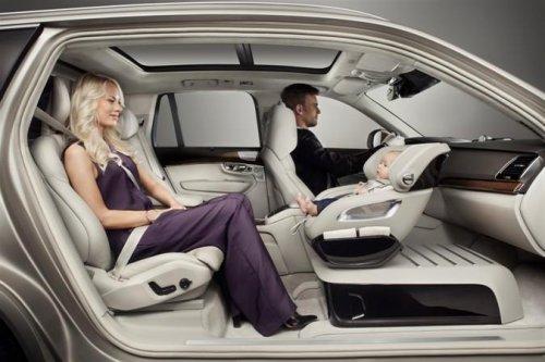 Volvo unveils new child seat concept