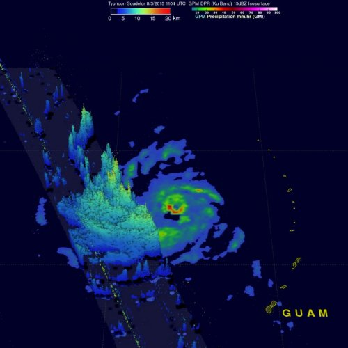 Soudelor now strongest typhoon of the year