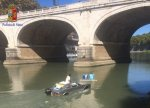 Rome police warn man for cruising river in converted Maserati