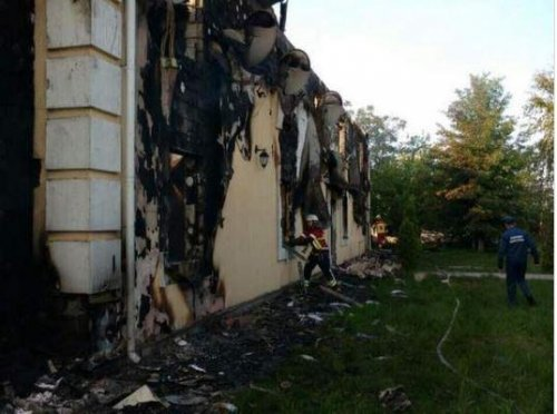 Fire kills 17 in senior care home near Kiev