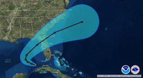 Tropical depressions target Florida, North Carolina