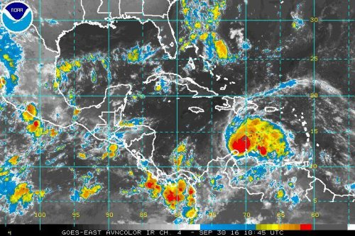 Hurricane Matthew strengthens to Category 2; brings life-threatening swells