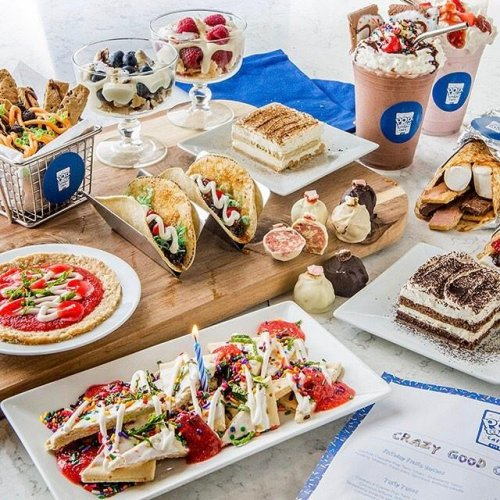 Look: Pop-up restaurant offers pizza, burritos made from Pop-Tarts