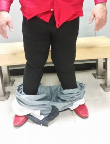 Look: Man who hid cocaine in pants at JFK was second in two weeks