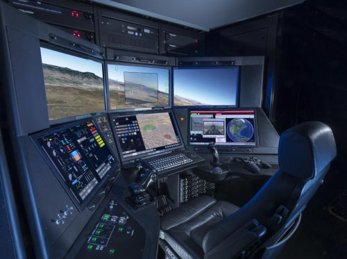 General Atomics finishes key cockpit review for drone program