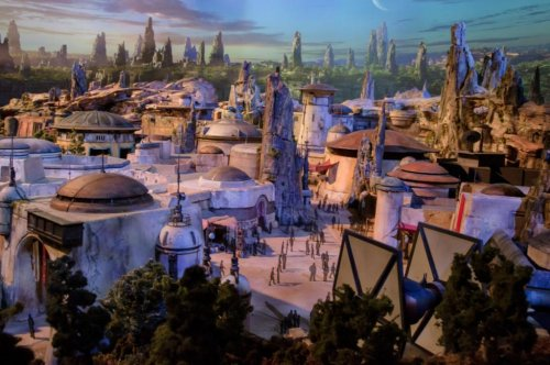 Disney-unveils-model-of-'Star-Wars'-themed-parks