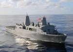 Work begins on amphibious transport ship Fort Lauderdale