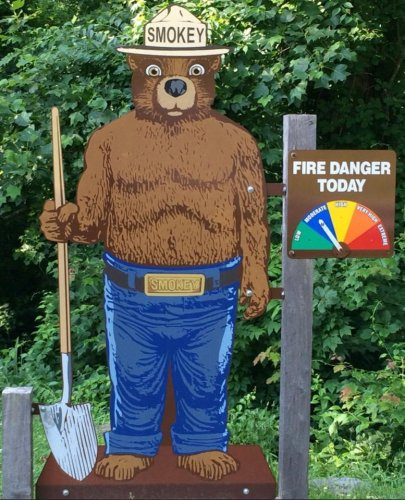 Look: Smokey Bear sign recovered after theft in North Carolina