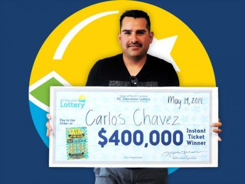 First-time-lottery-player-wins-$400,000-in-North-Carolina