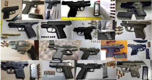 TSA-seizes-record-26-guns-at-15-U.S.-airports-in-one-day