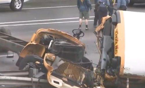 School-bus-hits-dump-truck-on-N.J.-highway;-2-dead