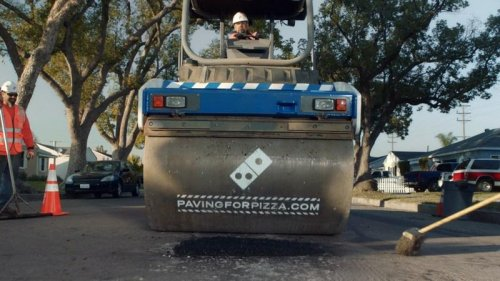 Domino's-filling-potholes-to-avoid-damage-to-pizza