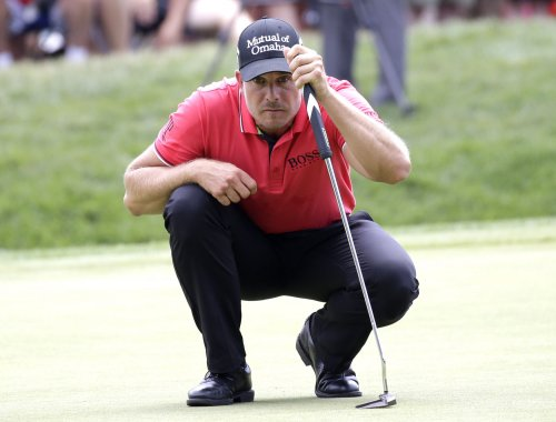 2016 PGA Championship: Henrik Stenson takes lead, four-way tie for second