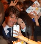 Tom Cruise woos South Korean moviegoers in Seoul