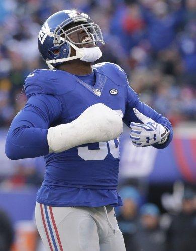 New York Giants DE Jason Pierre-Paul: 'My hand feels great'