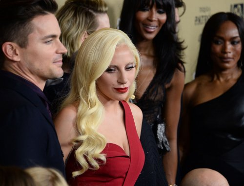 Lady Gaga among the stars to turn out for the 'American Horror Story: Hotel' premiere