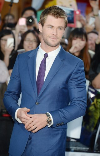 Chris Hemsworth's wife shares sweet photo of daughter India on the 'Huntsman' set